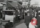 Image of Hotels and boardwalk Atlantic City New Jersey USA, 1917, second 24 stock footage video 65675023084