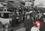 Image of Hotels and boardwalk Atlantic City New Jersey USA, 1917, second 25 stock footage video 65675023084