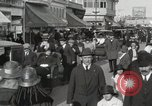 Image of Hotels and boardwalk Atlantic City New Jersey USA, 1917, second 26 stock footage video 65675023084