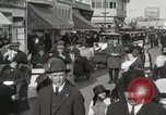 Image of Hotels and boardwalk Atlantic City New Jersey USA, 1917, second 28 stock footage video 65675023084