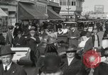 Image of Hotels and boardwalk Atlantic City New Jersey USA, 1917, second 29 stock footage video 65675023084
