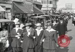 Image of Hotels and boardwalk Atlantic City New Jersey USA, 1917, second 30 stock footage video 65675023084