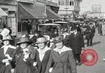Image of Hotels and boardwalk Atlantic City New Jersey USA, 1917, second 31 stock footage video 65675023084