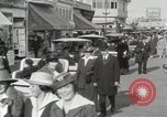 Image of Hotels and boardwalk Atlantic City New Jersey USA, 1917, second 32 stock footage video 65675023084