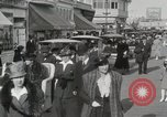 Image of Hotels and boardwalk Atlantic City New Jersey USA, 1917, second 33 stock footage video 65675023084