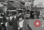 Image of Hotels and boardwalk Atlantic City New Jersey USA, 1917, second 34 stock footage video 65675023084
