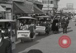 Image of Hotels and boardwalk Atlantic City New Jersey USA, 1917, second 36 stock footage video 65675023084
