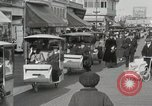 Image of Hotels and boardwalk Atlantic City New Jersey USA, 1917, second 37 stock footage video 65675023084
