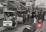 Image of Hotels and boardwalk Atlantic City New Jersey USA, 1917, second 38 stock footage video 65675023084