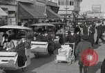 Image of Hotels and boardwalk Atlantic City New Jersey USA, 1917, second 39 stock footage video 65675023084
