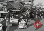 Image of Hotels and boardwalk Atlantic City New Jersey USA, 1917, second 40 stock footage video 65675023084