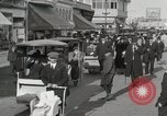 Image of Hotels and boardwalk Atlantic City New Jersey USA, 1917, second 42 stock footage video 65675023084