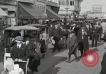 Image of Hotels and boardwalk Atlantic City New Jersey USA, 1917, second 43 stock footage video 65675023084