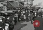 Image of Hotels and boardwalk Atlantic City New Jersey USA, 1917, second 44 stock footage video 65675023084