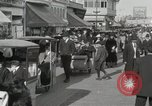 Image of Hotels and boardwalk Atlantic City New Jersey USA, 1917, second 45 stock footage video 65675023084