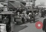 Image of Hotels and boardwalk Atlantic City New Jersey USA, 1917, second 46 stock footage video 65675023084