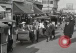 Image of Hotels and boardwalk Atlantic City New Jersey USA, 1917, second 48 stock footage video 65675023084