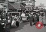Image of Hotels and boardwalk Atlantic City New Jersey USA, 1917, second 49 stock footage video 65675023084