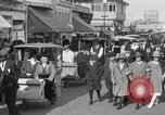 Image of Hotels and boardwalk Atlantic City New Jersey USA, 1917, second 51 stock footage video 65675023084