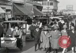 Image of Hotels and boardwalk Atlantic City New Jersey USA, 1917, second 52 stock footage video 65675023084