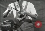 Image of Construction of Ukulele Hawaii USA, 1917, second 25 stock footage video 65675023085