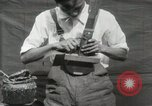 Image of Construction of Ukulele Hawaii USA, 1917, second 27 stock footage video 65675023085