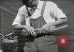 Image of Construction of Ukulele Hawaii USA, 1917, second 32 stock footage video 65675023085