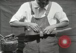 Image of Construction of Ukulele Hawaii USA, 1917, second 38 stock footage video 65675023085