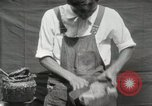 Image of Construction of Ukulele Hawaii USA, 1917, second 41 stock footage video 65675023085