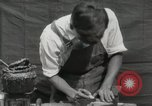 Image of Construction of Ukulele Hawaii USA, 1917, second 44 stock footage video 65675023085