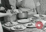 Image of Mission workers meal Campbell County Tennessee USA, 1935, second 17 stock footage video 65675023119