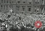 Image of Unemployed men demonstrate during depression Minneapolis Minnesota USA, 1934, second 1 stock footage video 65675023138
