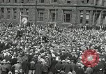 Image of Unemployed men demonstrate during depression Minneapolis Minnesota USA, 1934, second 6 stock footage video 65675023138