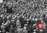 Image of Unemployed men demonstrate during depression Minneapolis Minnesota USA, 1934, second 9 stock footage video 65675023138