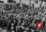 Image of Unemployed men demonstrate during depression Minneapolis Minnesota USA, 1934, second 23 stock footage video 65675023138