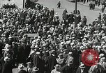 Image of Unemployed men demonstrate during depression Minneapolis Minnesota USA, 1934, second 25 stock footage video 65675023138