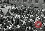 Image of Unemployed men demonstrate during depression Minneapolis Minnesota USA, 1934, second 31 stock footage video 65675023138