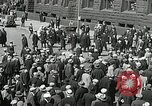 Image of Unemployed men demonstrate during depression Minneapolis Minnesota USA, 1934, second 32 stock footage video 65675023138