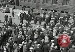 Image of Unemployed men demonstrate during depression Minneapolis Minnesota USA, 1934, second 33 stock footage video 65675023138