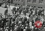 Image of Unemployed men demonstrate during depression Minneapolis Minnesota USA, 1934, second 34 stock footage video 65675023138