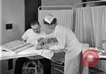 Image of Protein allergy test Detroit Michigan Henry Ford Hospital USA, 1936, second 15 stock footage video 65675023149