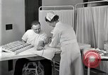 Image of Protein allergy test Detroit Michigan Henry Ford Hospital USA, 1936, second 31 stock footage video 65675023149