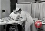 Image of Protein allergy test Detroit Michigan Henry Ford Hospital USA, 1936, second 33 stock footage video 65675023149