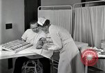 Image of Protein allergy test Detroit Michigan Henry Ford Hospital USA, 1936, second 37 stock footage video 65675023149