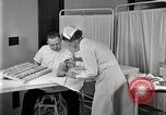 Image of Protein allergy test Detroit Michigan Henry Ford Hospital USA, 1936, second 43 stock footage video 65675023149