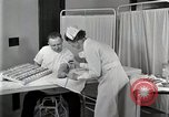 Image of Protein allergy test Detroit Michigan Henry Ford Hospital USA, 1936, second 49 stock footage video 65675023149