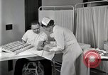 Image of Protein allergy test Detroit Michigan Henry Ford Hospital USA, 1936, second 51 stock footage video 65675023149