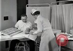 Image of Protein allergy test Detroit Michigan Henry Ford Hospital USA, 1936, second 52 stock footage video 65675023149