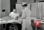 Image of Protein allergy test Detroit Michigan Henry Ford Hospital USA, 1936, second 55 stock footage video 65675023149