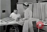 Image of Protein allergy test Detroit Michigan Henry Ford Hospital USA, 1936, second 56 stock footage video 65675023149